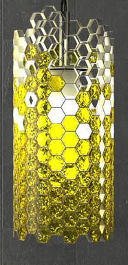 Beehouse Lamp Close-up