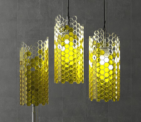 Beehouse Lamp
