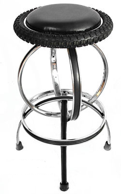 Bike Furniture Barstool