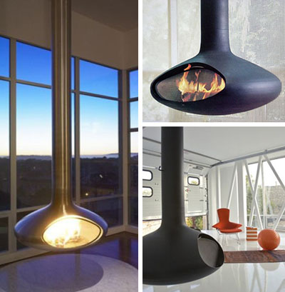 Suspended Fireplaces