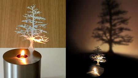 Pine Tree Lumen Lamp