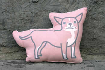 Pinky Cha Cha Pillow