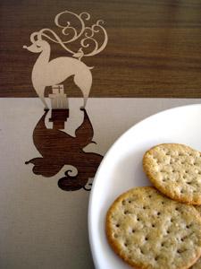 Reindeer Popmat Placemat