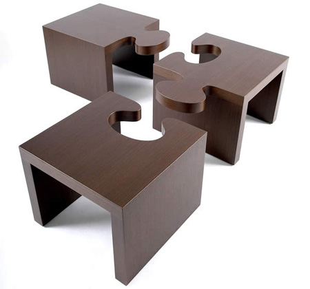 wonderful puzzle table design