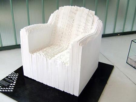Sound Chair in White