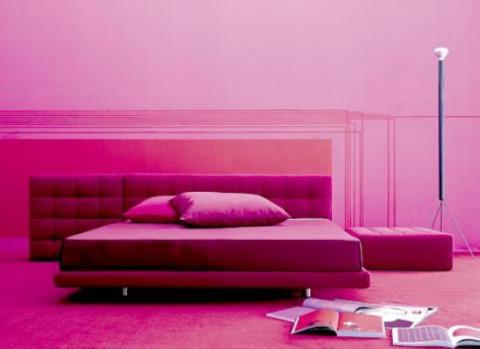 pink-monochromatic-room