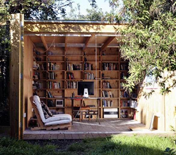 12 ideas for outdoor offices beautyharmonylife