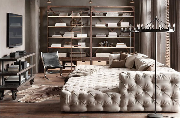 Gorgeous Tufted Sofa