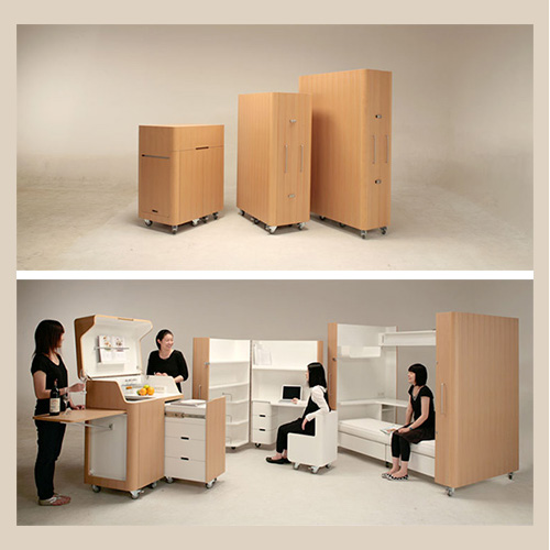 Modern gypsy gear mobile furniture for your nomadic - Furnitive mobel ...