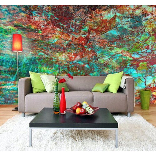 Wall murals beautiful room transformers six different ways for Abstract mural painting