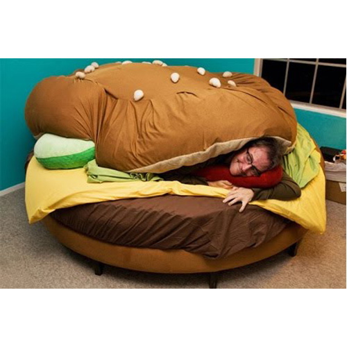Hamburger Bed Set For Sale