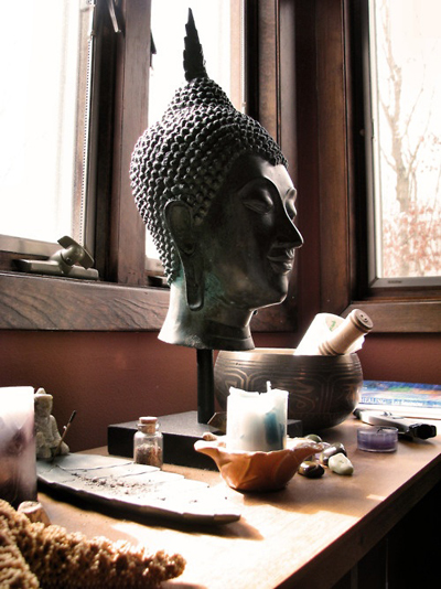 Meditative Spaces: Creating A Sacred Space In A Cluttered