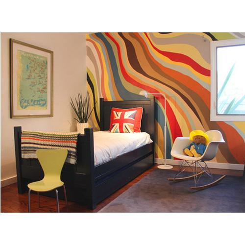 wall mural abstract maroon wall mural multicolour smoke