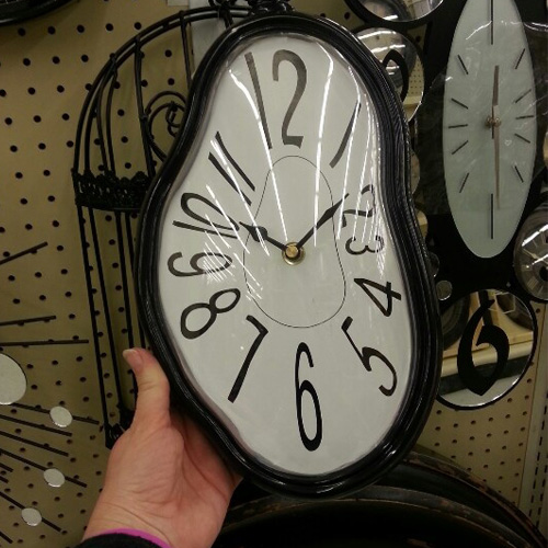 Funky Furniture Friday Weird Interesting Clocks Six