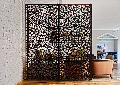 Create space using stylish partitions and room dividers for Stylish room dividers
