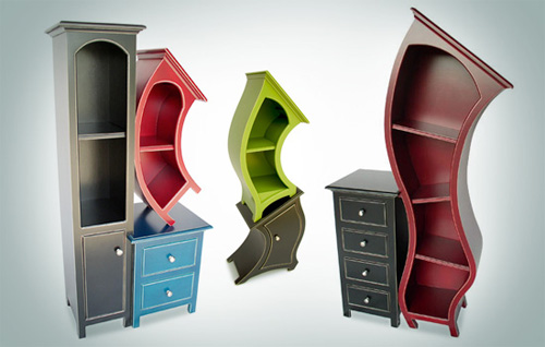 Facebook. Funky Furniture Friday  Surrealist Home Decor   Six Different Ways
