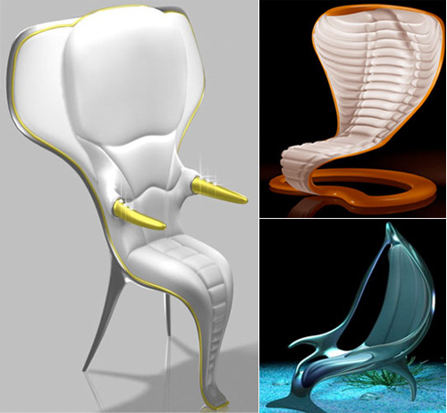 Quirky Animal Shaped Furniture Designs
