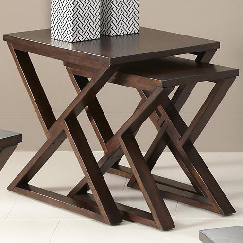 Triangular Base Nesting Tables