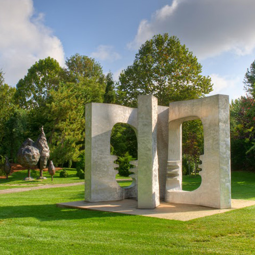 Amazing Exhibits Grounds For Sculpture In Hamilton New