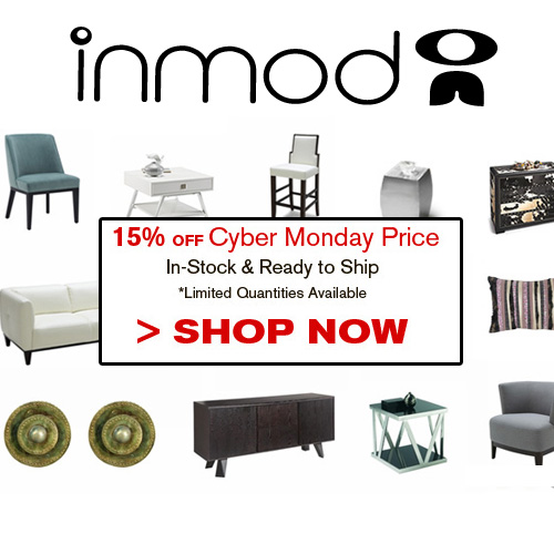 Inmod Cyber Monday Sale - up to 15% Off
