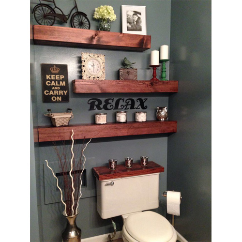 2014 interior design trends floating shelves six for Bathroom design trends 2014