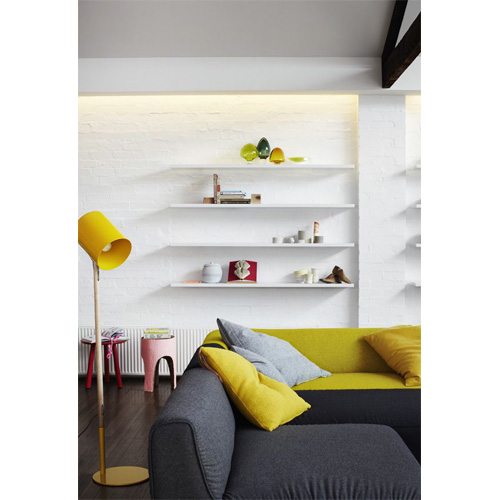 floating shelves living room 2014 interior design trends floating shelves six different ways - Floating Shelves In Living Room