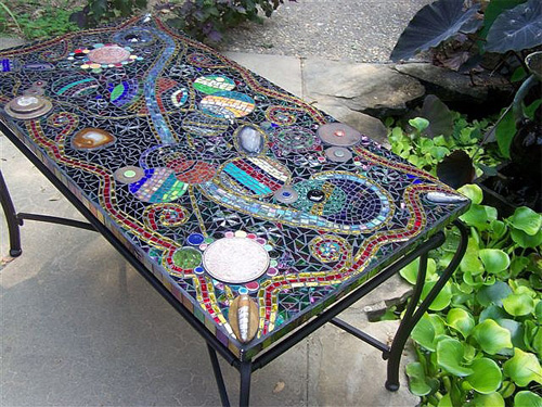 These 6 Pieces Of Colorful Furniture Are Absolute Must Haves: Ancient Art For The Contemporary Home: Mosaic Tables