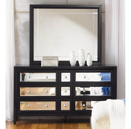 Each. Mirrored Furniture  The Reflections Bedroom Set by Najarian