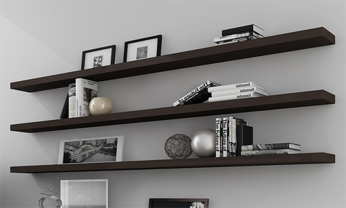 Floating Shelving 2014 interior design trends: floating shelves | six different ways