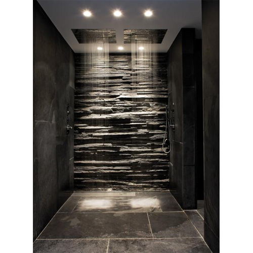 Beau Superior Design: Slate And Stone Shower