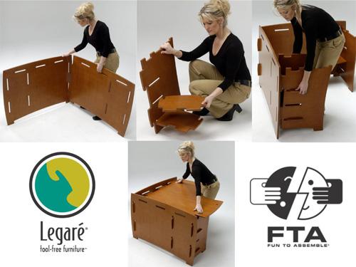 """Fun to Assemble"" Furniture Legare Sustainable Furniture"