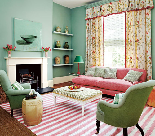 Refreshing Mint Green Home D Cor