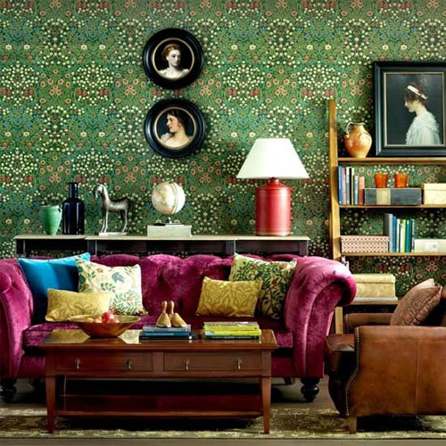 Victorian Drawing Room: Modern Meets Victorian: Love This Look?