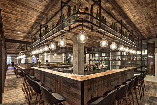 Industrial And Antique Interior Design