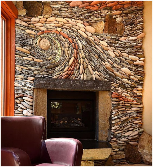 Artistic Rock Wall Murals Geode Furnishings Six Different Ways